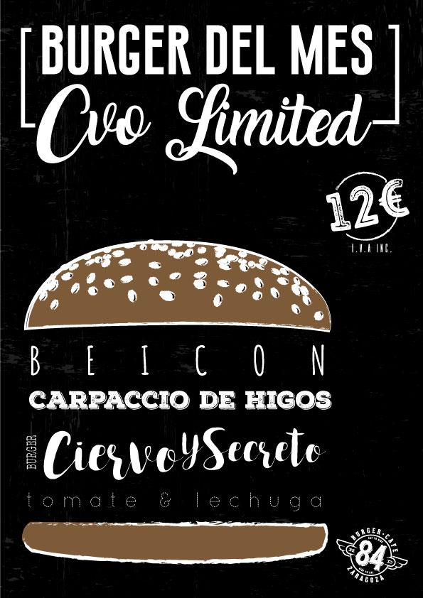 Mejor hamburguesa de Zaragoza 84 Burger Café